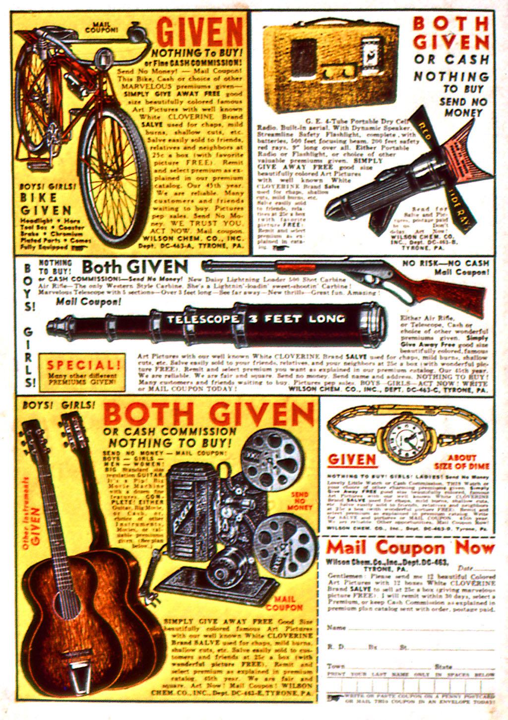 Read online Detective Comics (1937) comic -  Issue #37 - 69