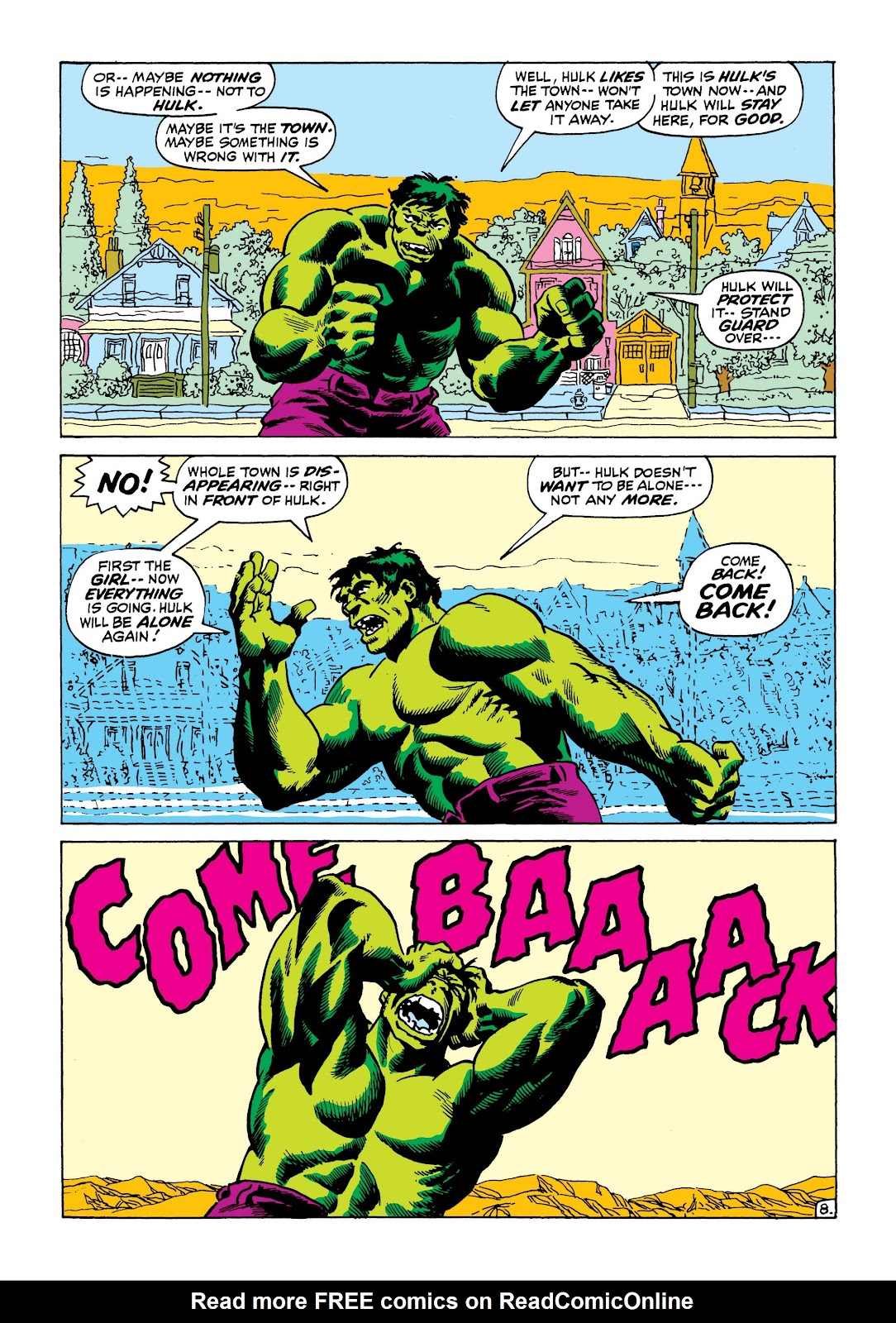 Read online Marvel Masterworks: The Incredible Hulk comic -  Issue # TPB 8 (Part 1) - 83