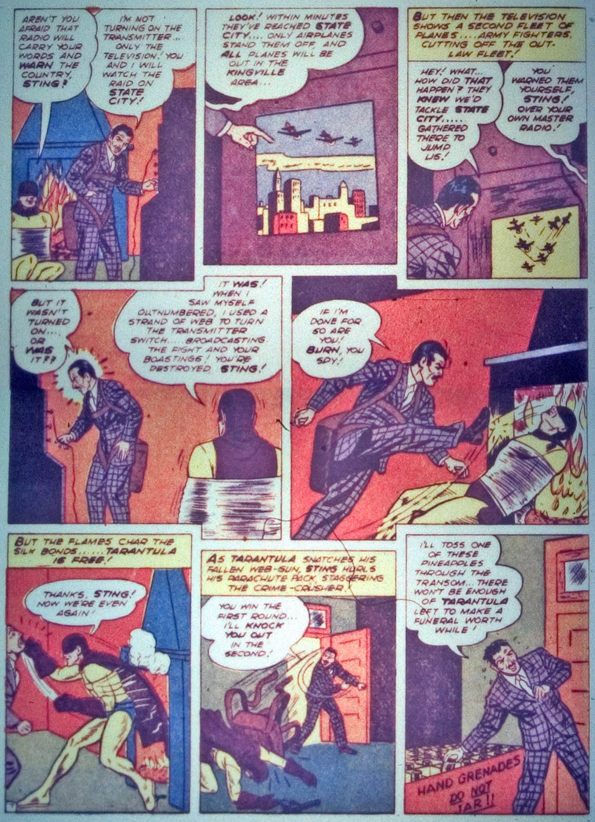 Star Spangled Comics (1941) issue 7 - Page 22