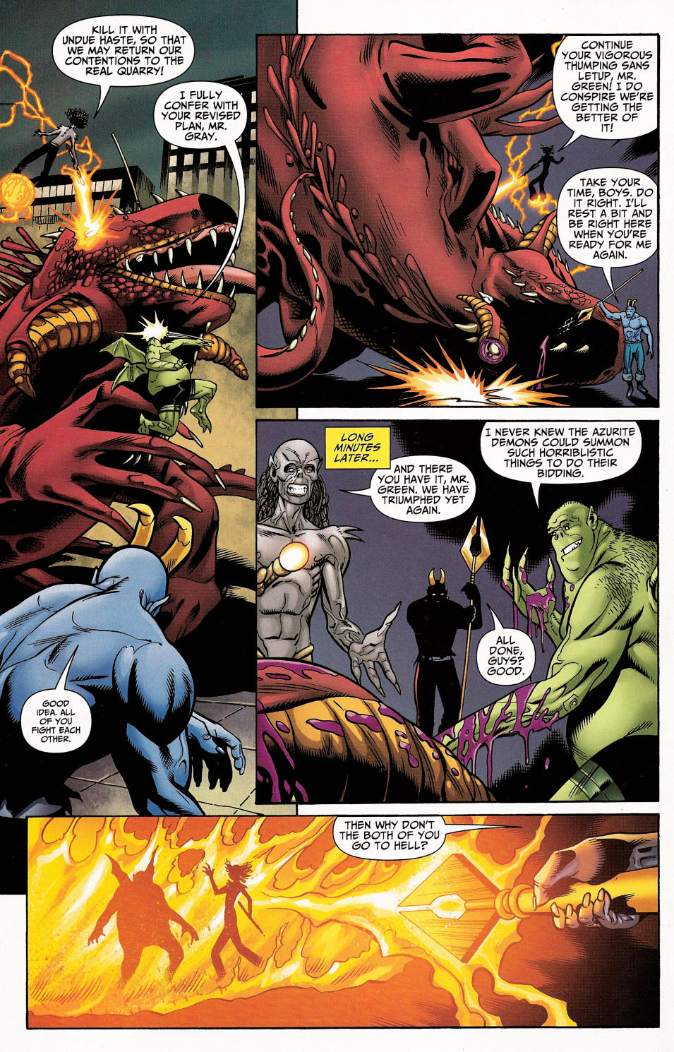 Read online Shadowpact comic -  Issue #4 - 31