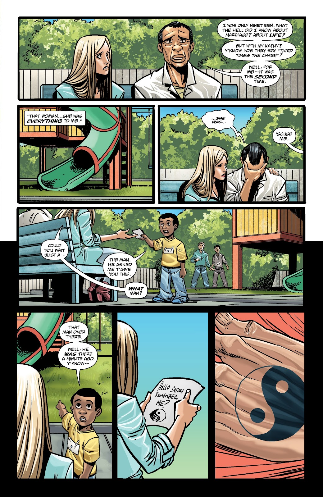 Read online The Girl In The Bay comic -  Issue #3 - 27