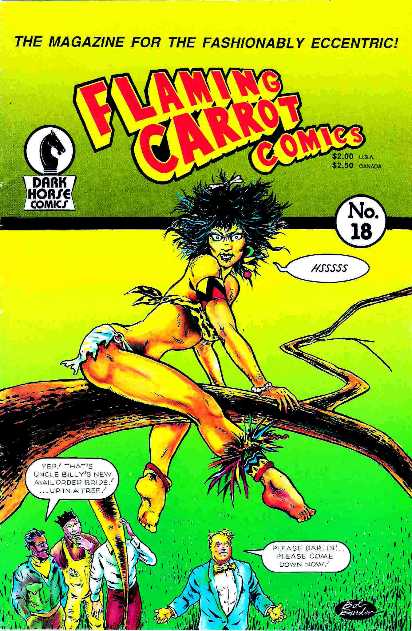 Read online Flaming Carrot Comics (1988) comic -  Issue #18 - 1