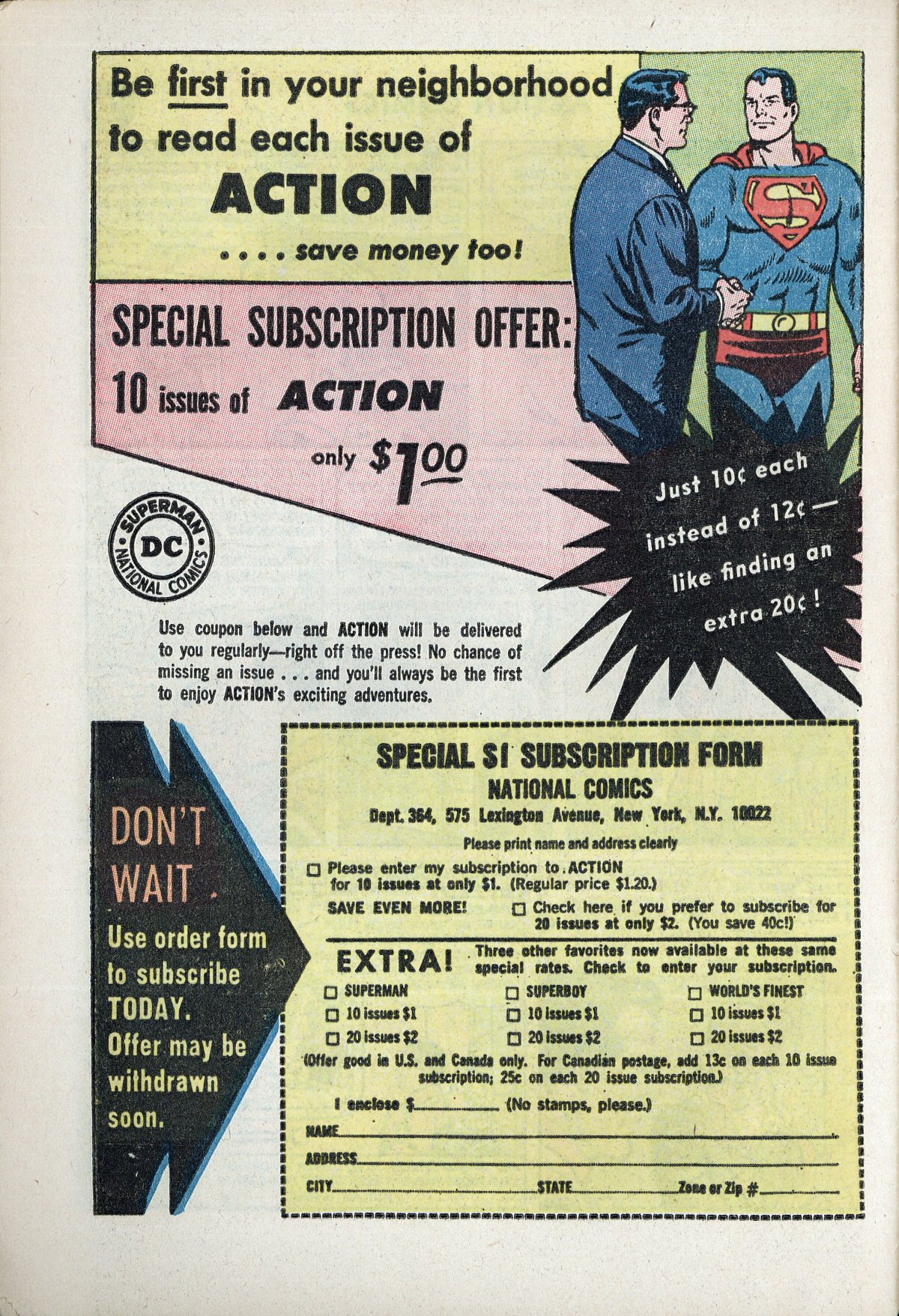 Read online Action Comics (1938) comic -  Issue #310 - 32