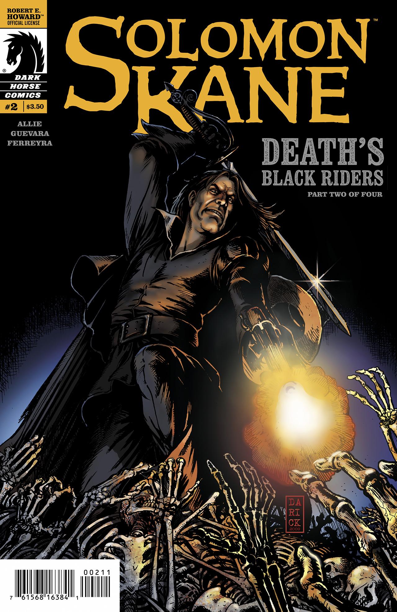 Read online Solomon Kane: Death's Black Riders comic -  Issue #2 - 1