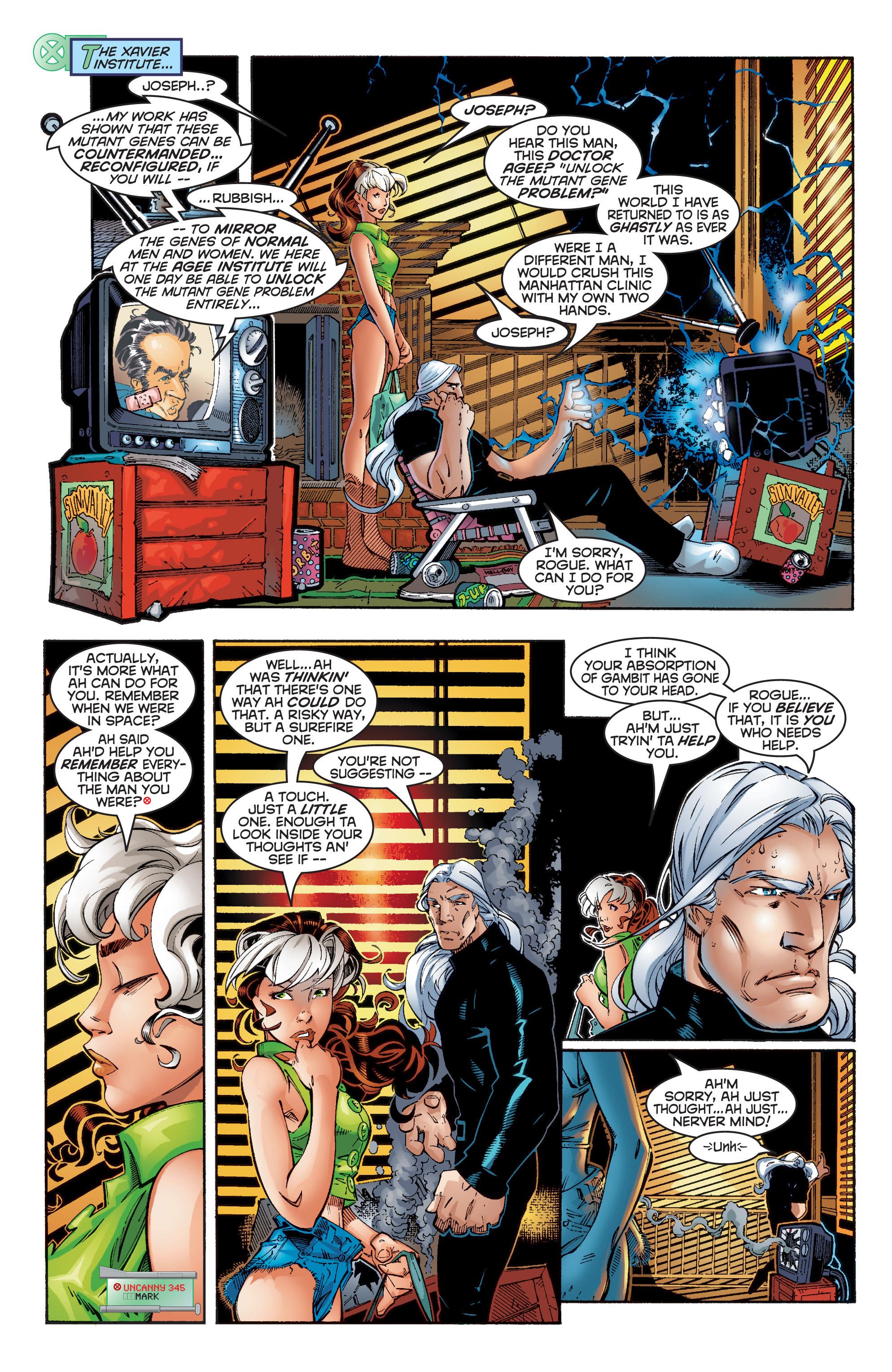 Read online Uncanny X-Men (1963) comic -  Issue #353 - 15