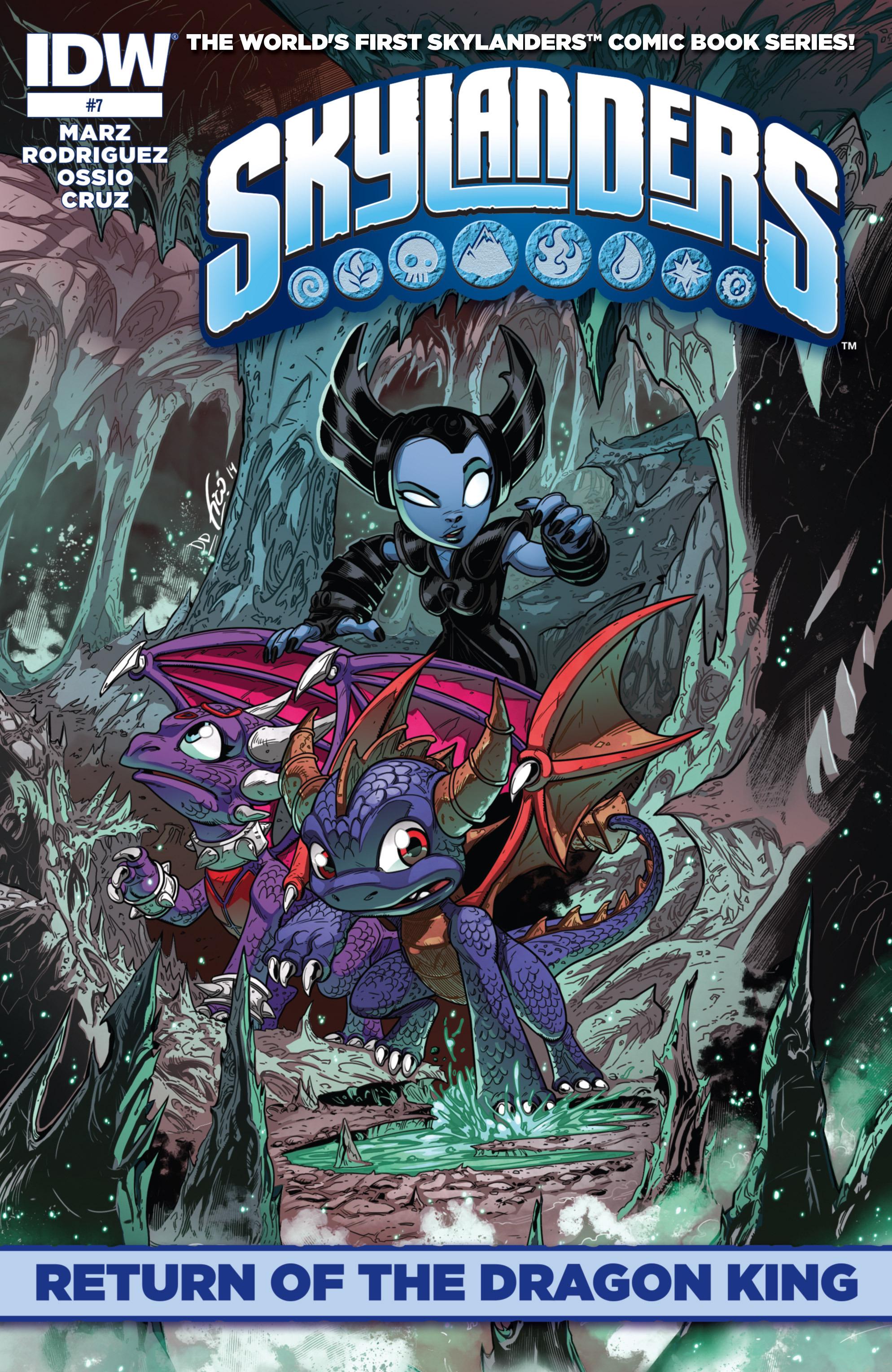 Read online Skylanders comic -  Issue #7 - 1