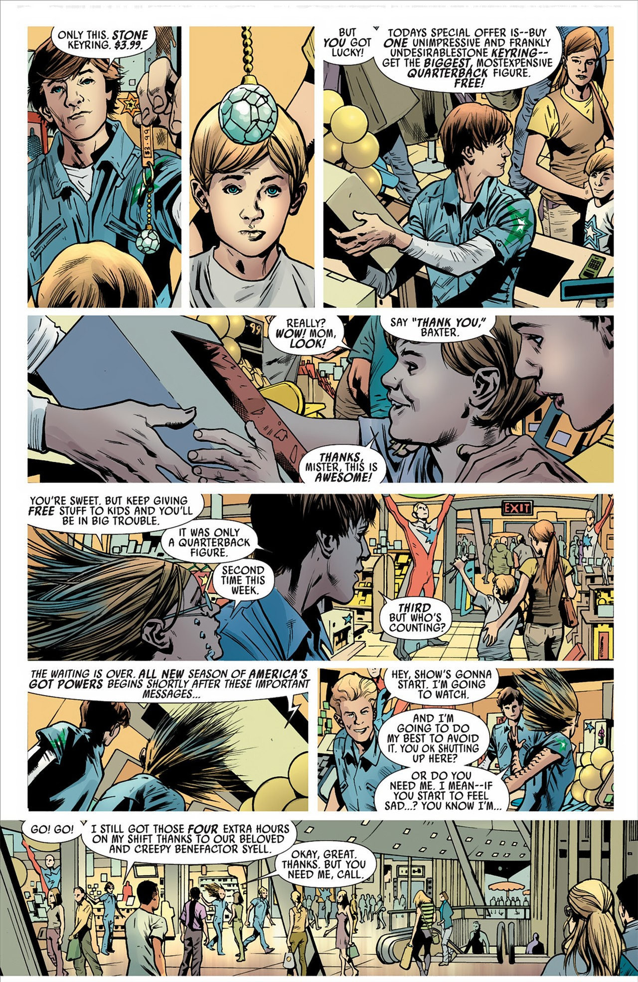 Read online America's Got Powers comic -  Issue #2 - 18