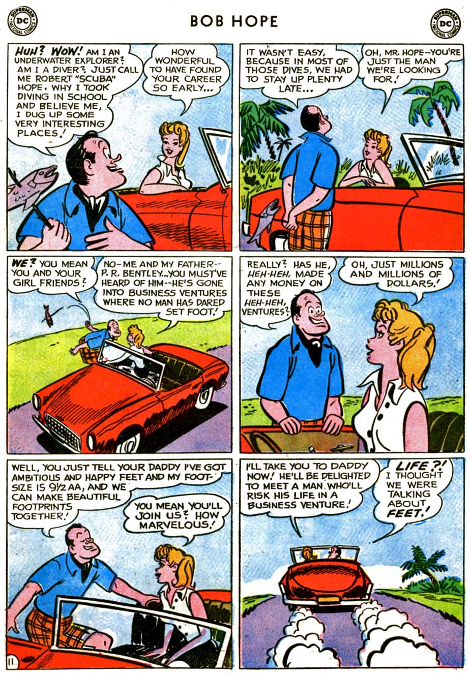 The Adventures of Bob Hope issue 72 - Page 15