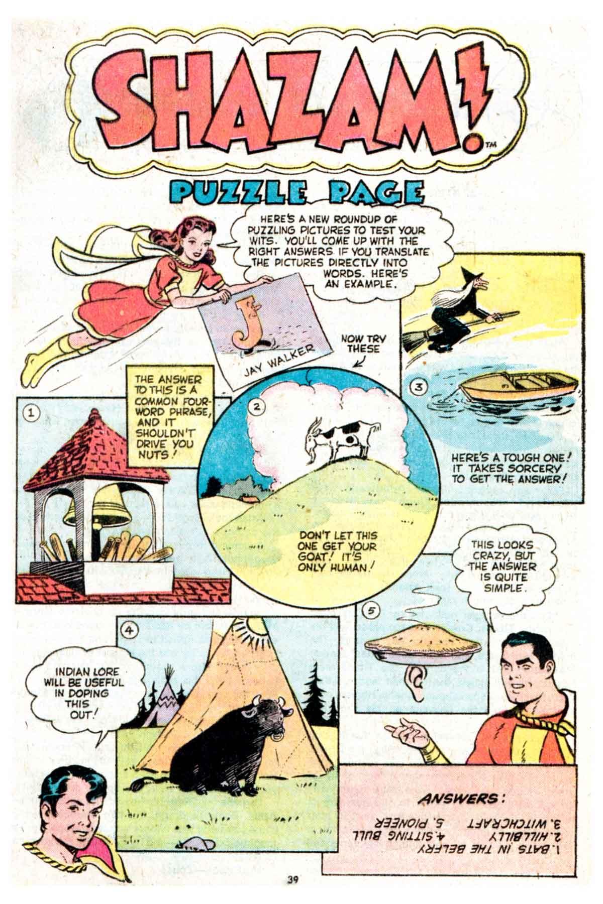 Read online Shazam! (1973) comic -  Issue #16 - 39