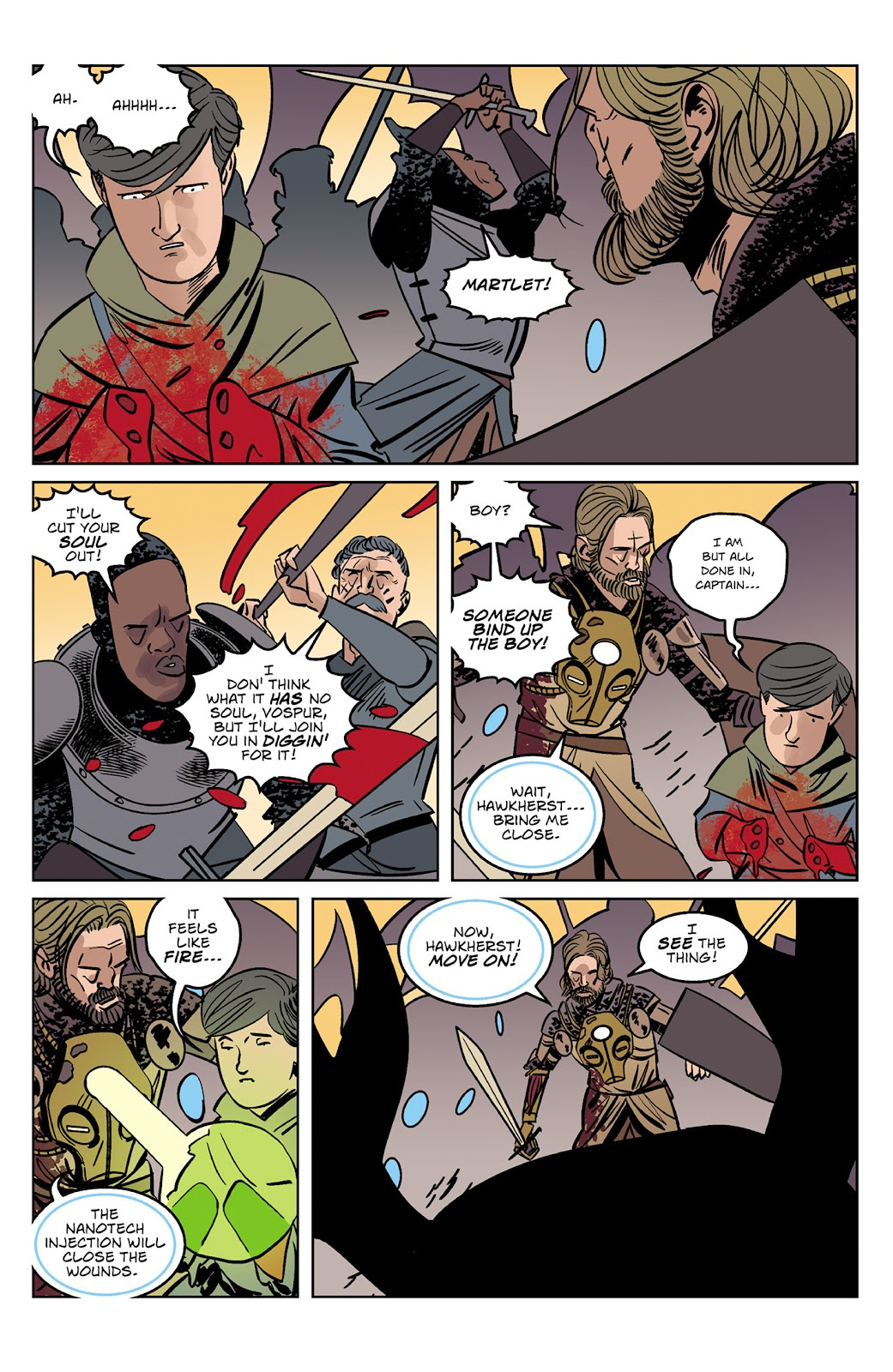 Read online Dark Ages comic -  Issue #4 - 14