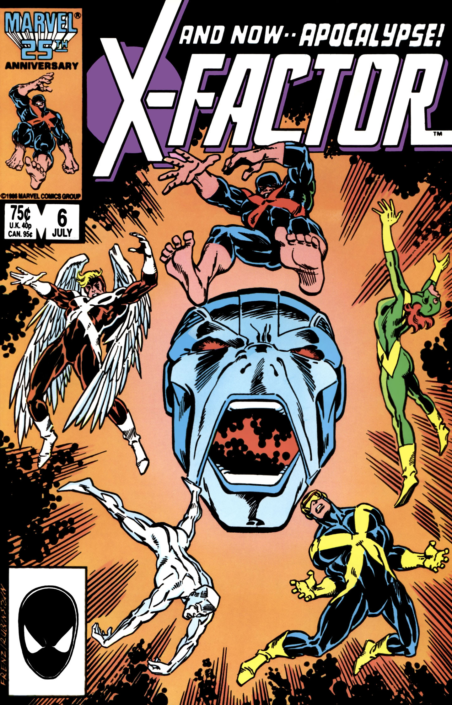 Read online X-Factor (1986) comic -  Issue #6 - 1