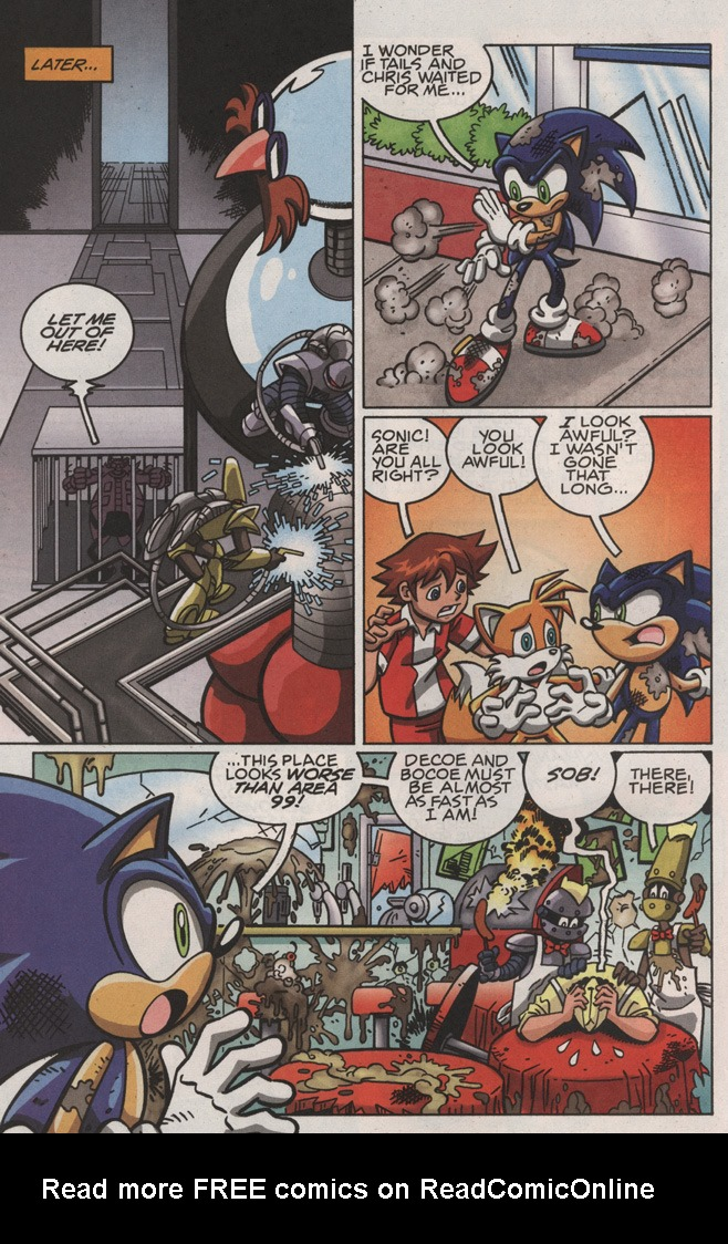 Read online Sonic X comic -  Issue #22 - 24