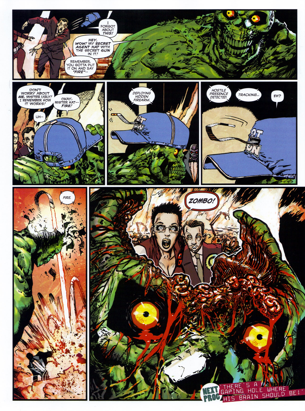 Read online 2000 AD comic -  Issue #1746 - 110