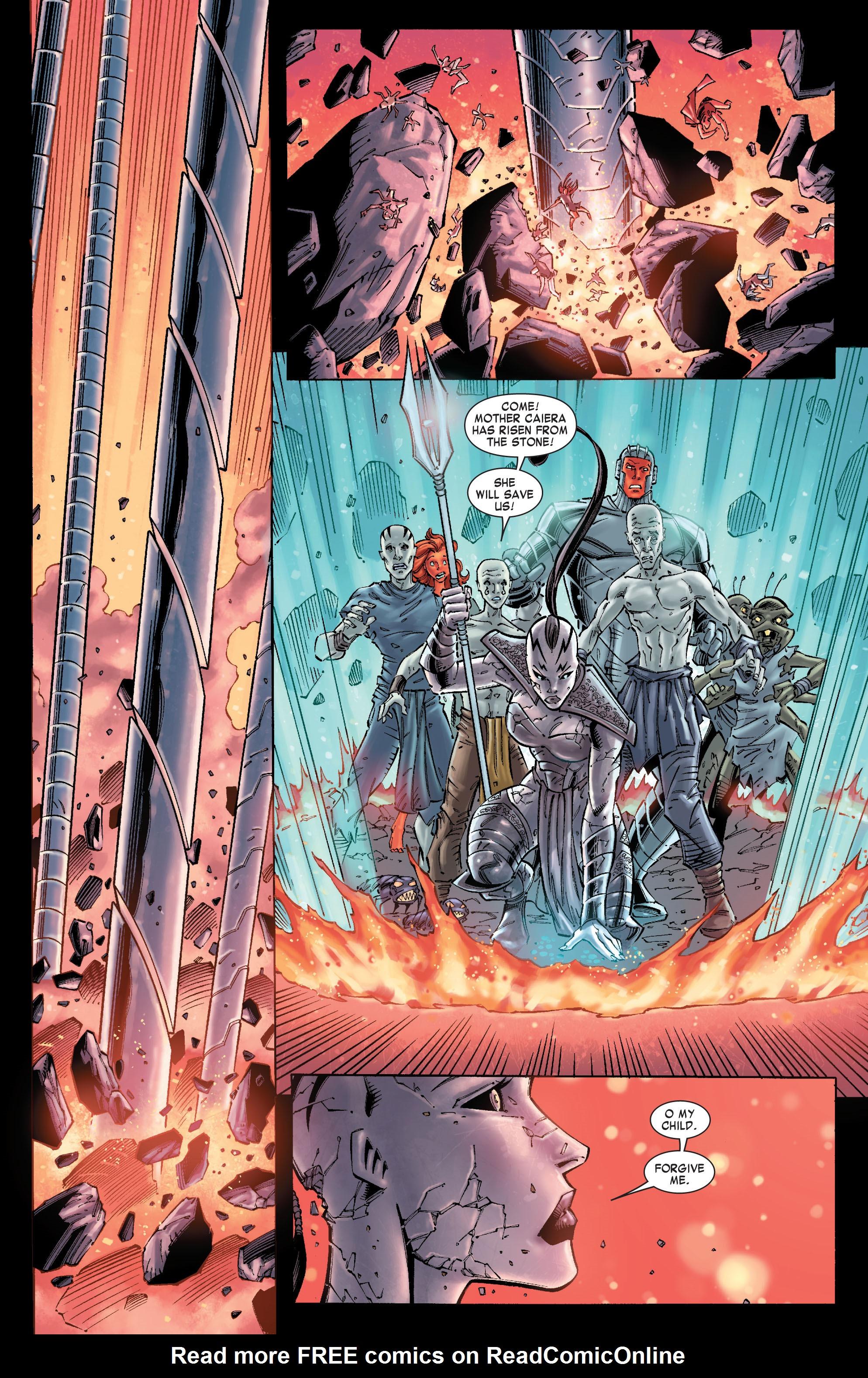 Read online Skaar: Son of Hulk comic -  Issue #10 - 6