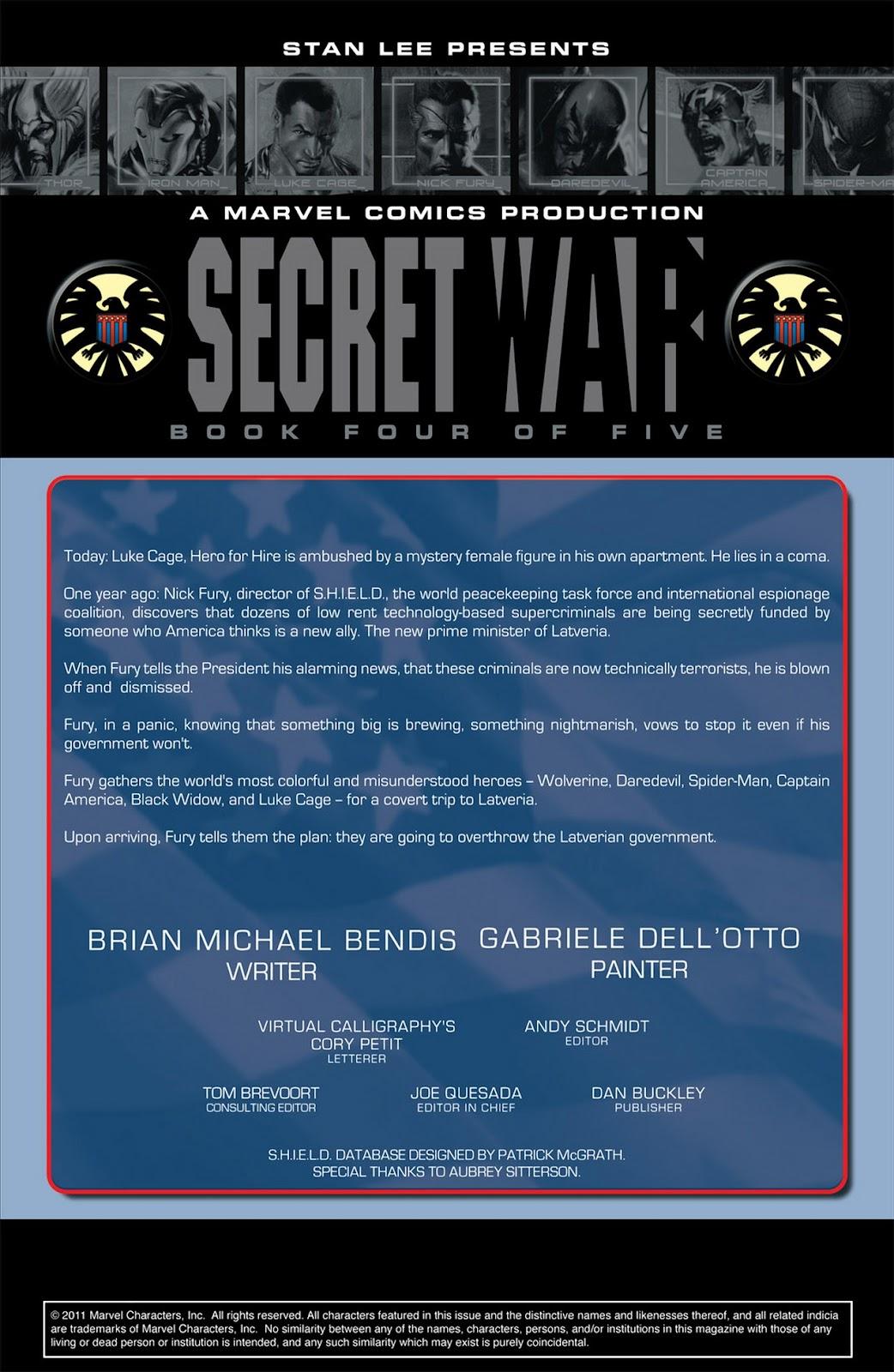 Read online Secret War comic -  Issue #4 - 2