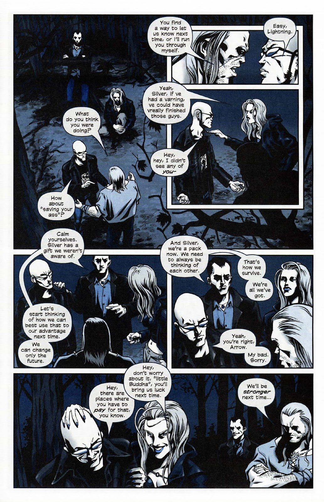 Read online Werewolf the Apocalypse comic -  Issue # Get of Fenris - 11
