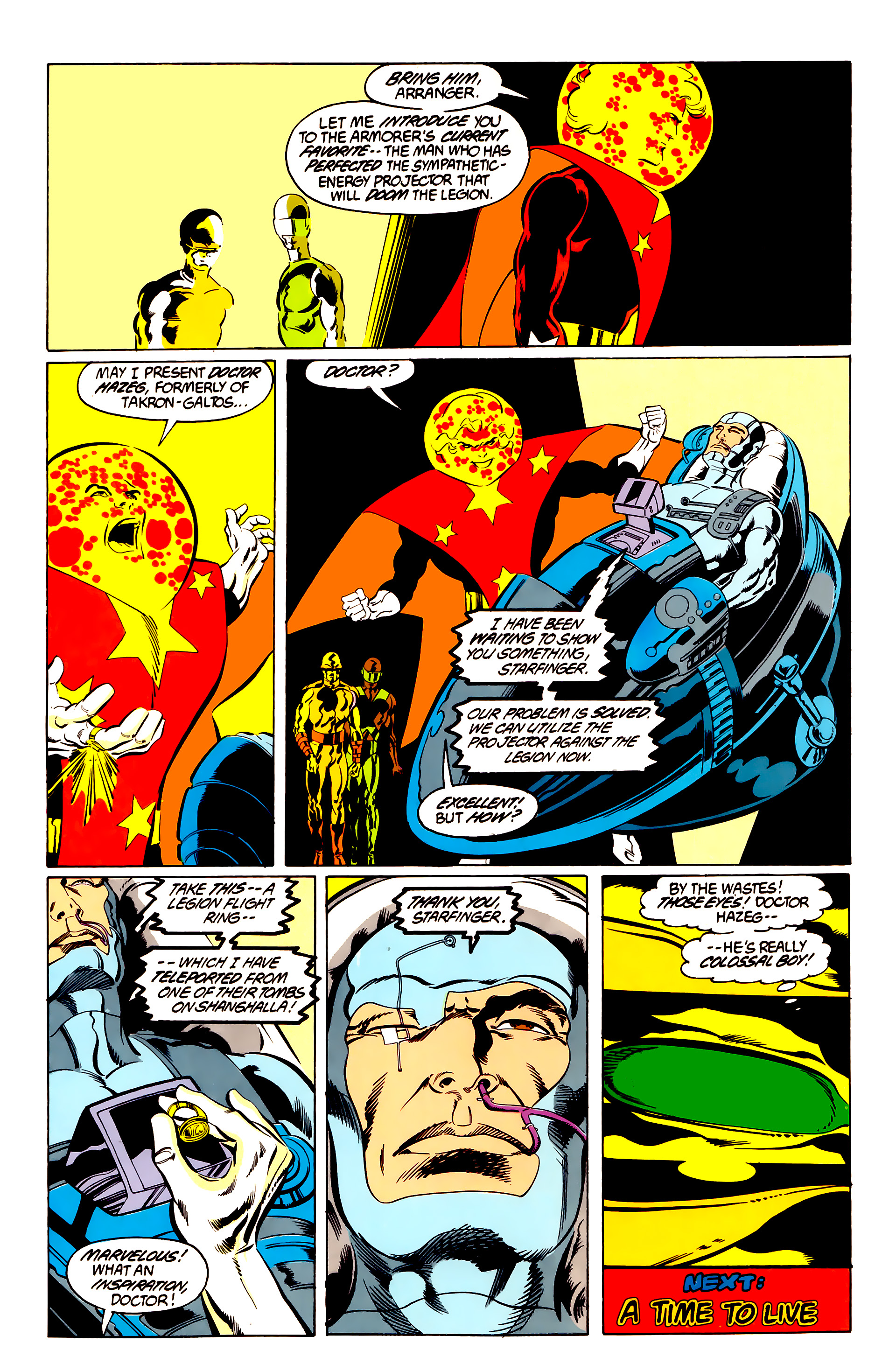 Legion of Super-Heroes (1984) 48 Page 27