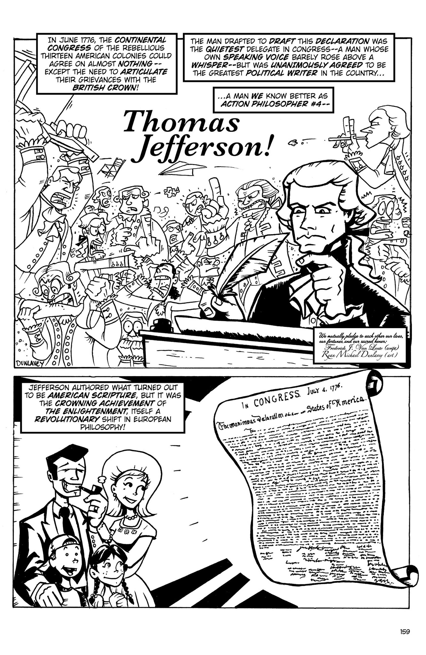 Read online Action Philosophers! comic -  Issue #Action Philosophers! TPB (Part 1) - 157