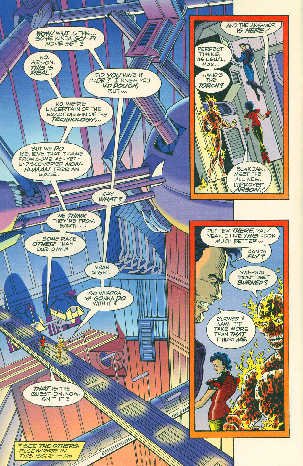 Read online ShadowHawk comic -  Issue #4 - 9