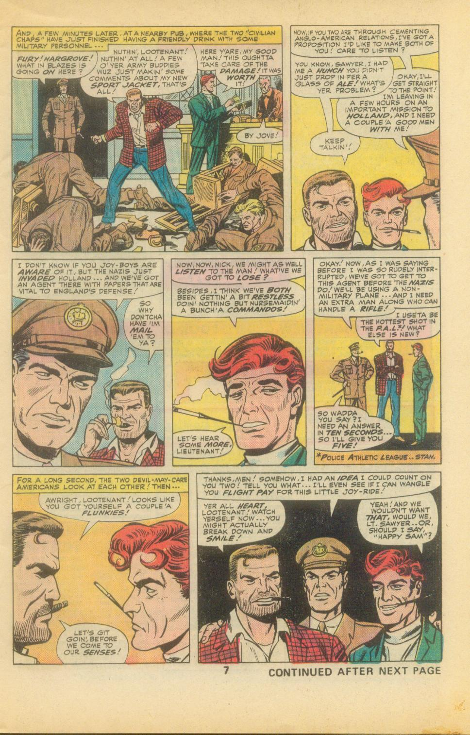 Read online Sgt. Fury comic -  Issue #136 - 9