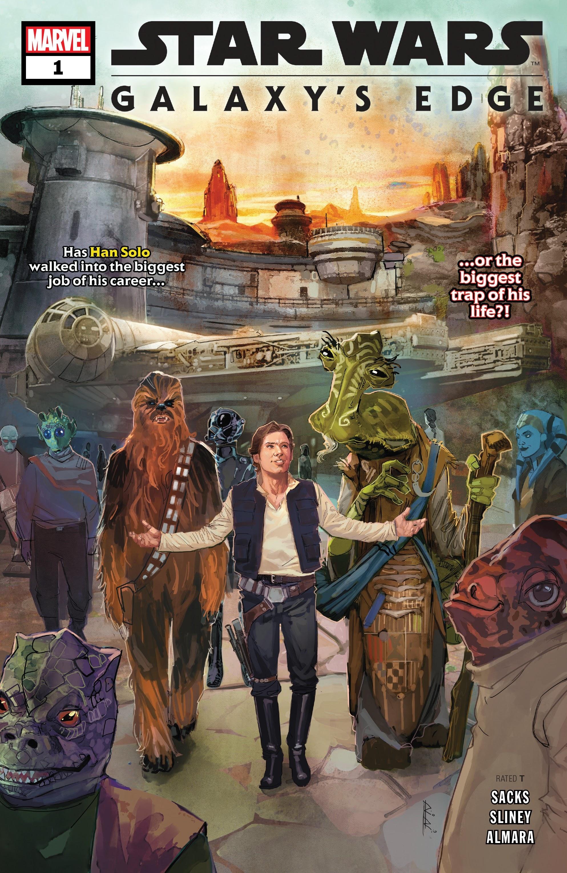 Star Wars: Galaxys Edge 1 Page 1