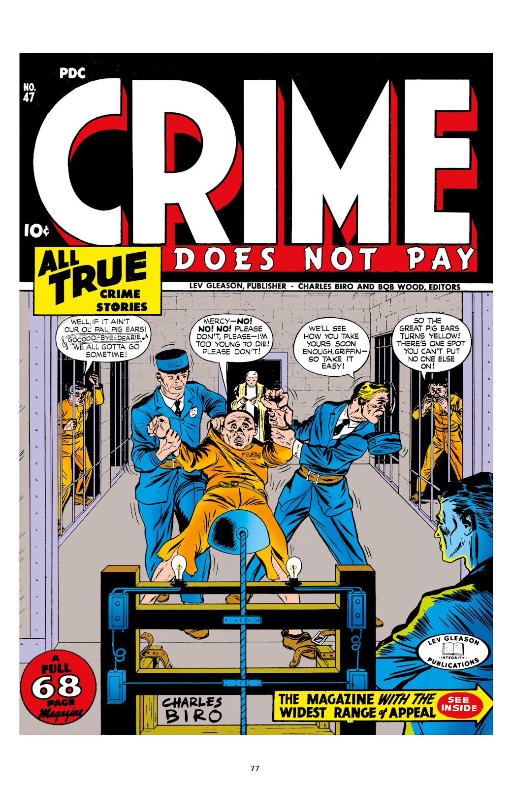 Read online Crime Does Not Pay Archives comic -  Issue # TPB 7 (Part 1) - 79