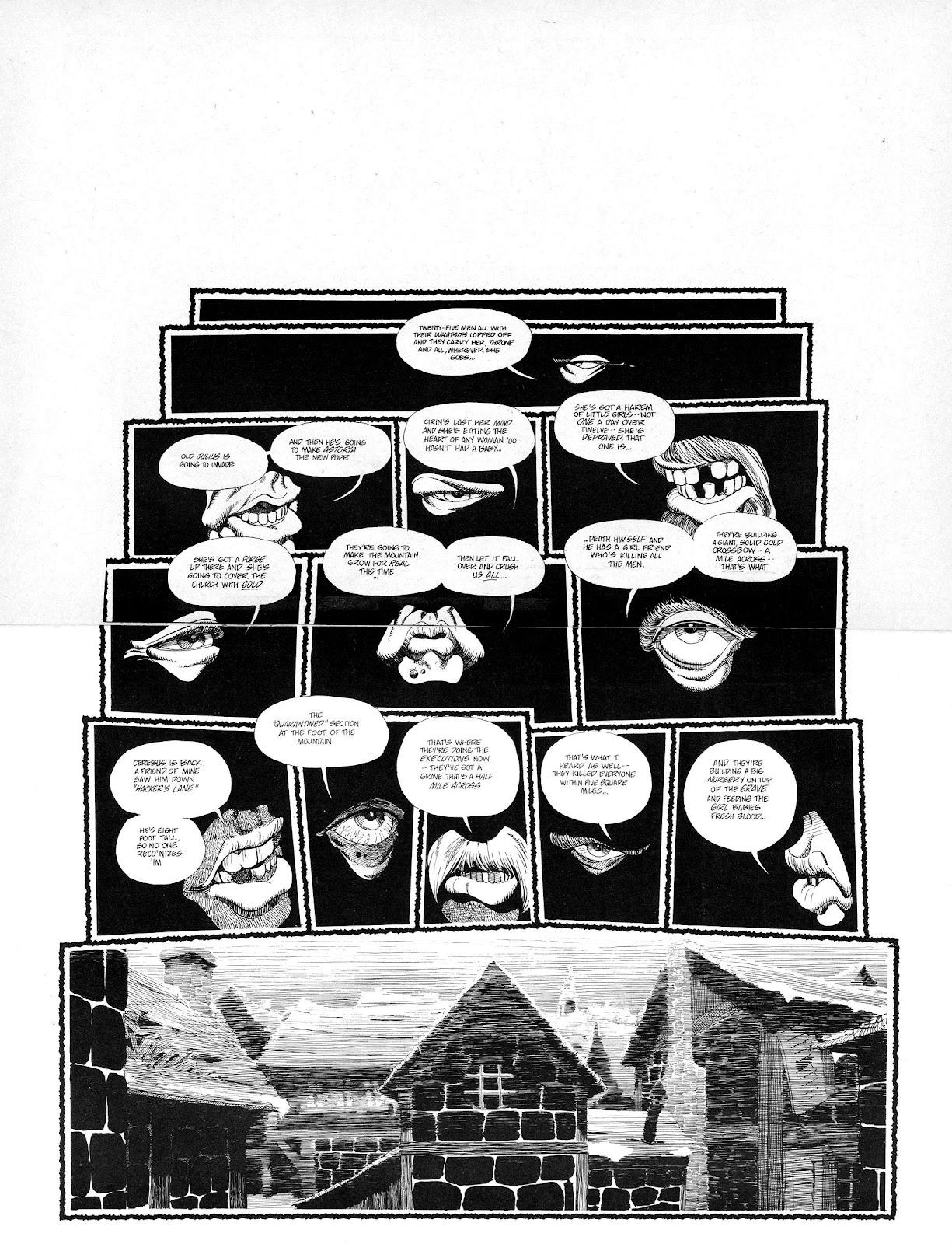 Cerebus Issue #165 #164 - English 19