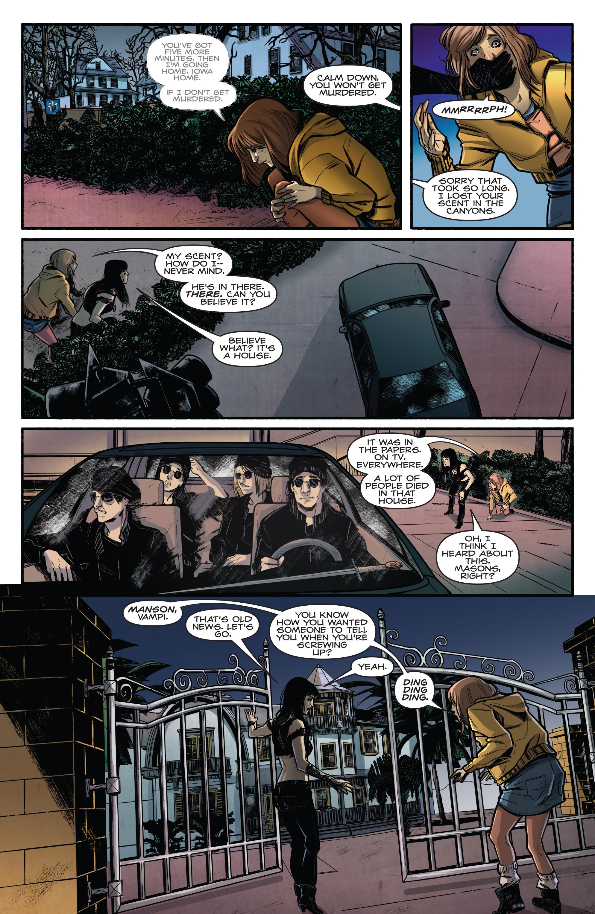 Read online Kiss/Vampirella comic -  Issue #1 - 27