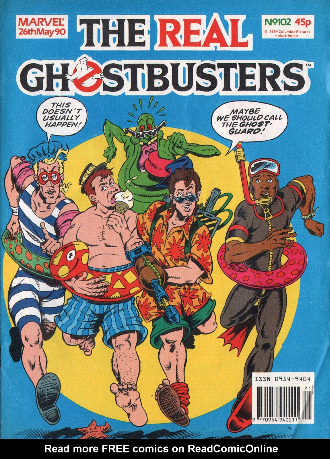 The Real Ghostbusters 102 Page 1