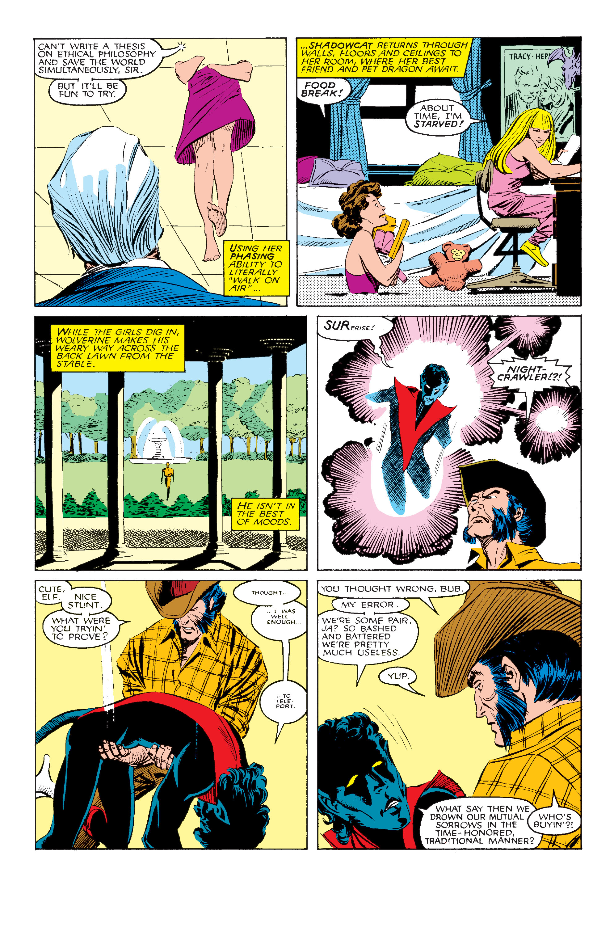 Read online Uncanny X-Men (1963) comic -  Issue #211 - 9
