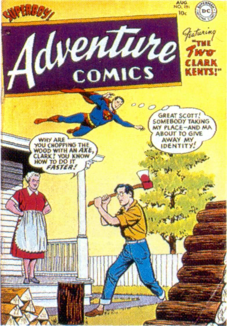 Read online Adventure Comics (1938) comic -  Issue #191 - 1