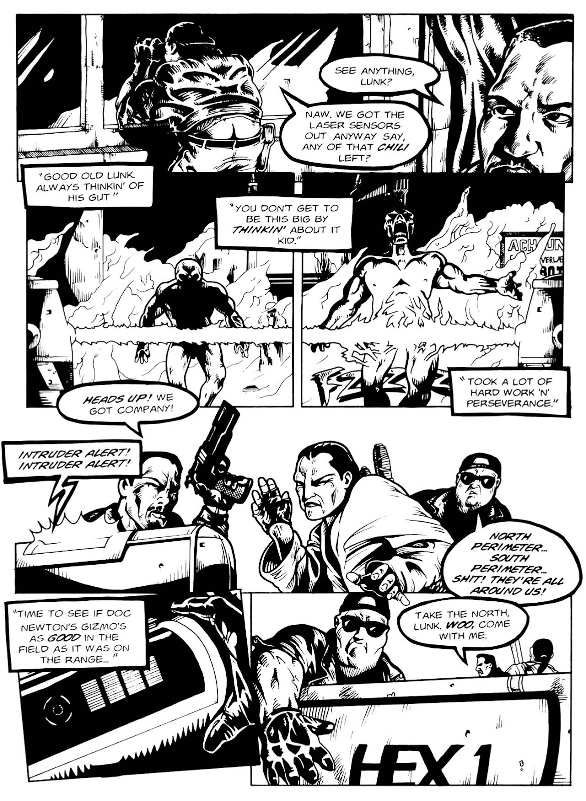 Read online Night of the Living Dead (1994) comic -  Issue #3 - 17