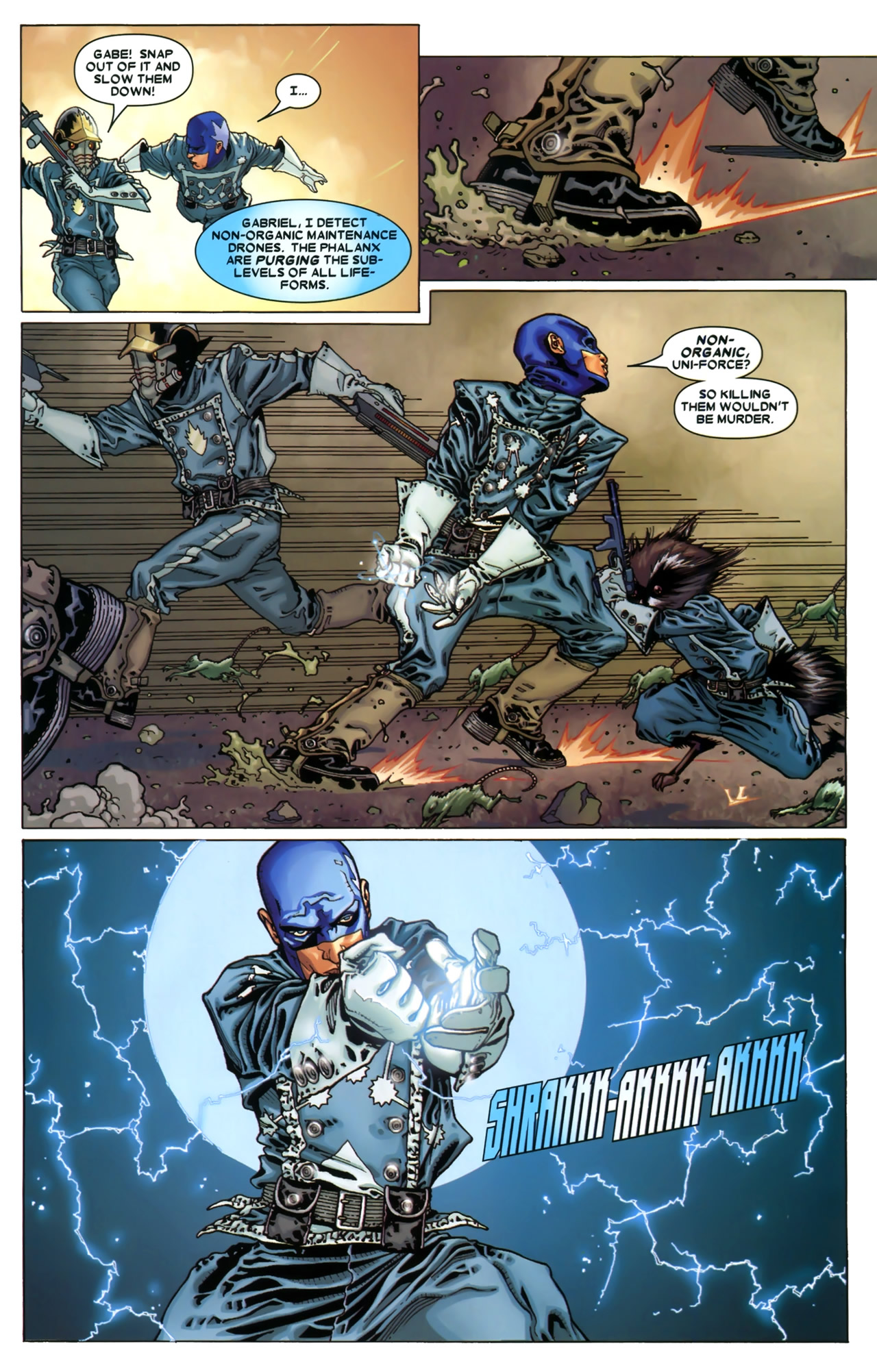 Read online Annihilation: Conquest - Starlord comic -  Issue #3 - 12