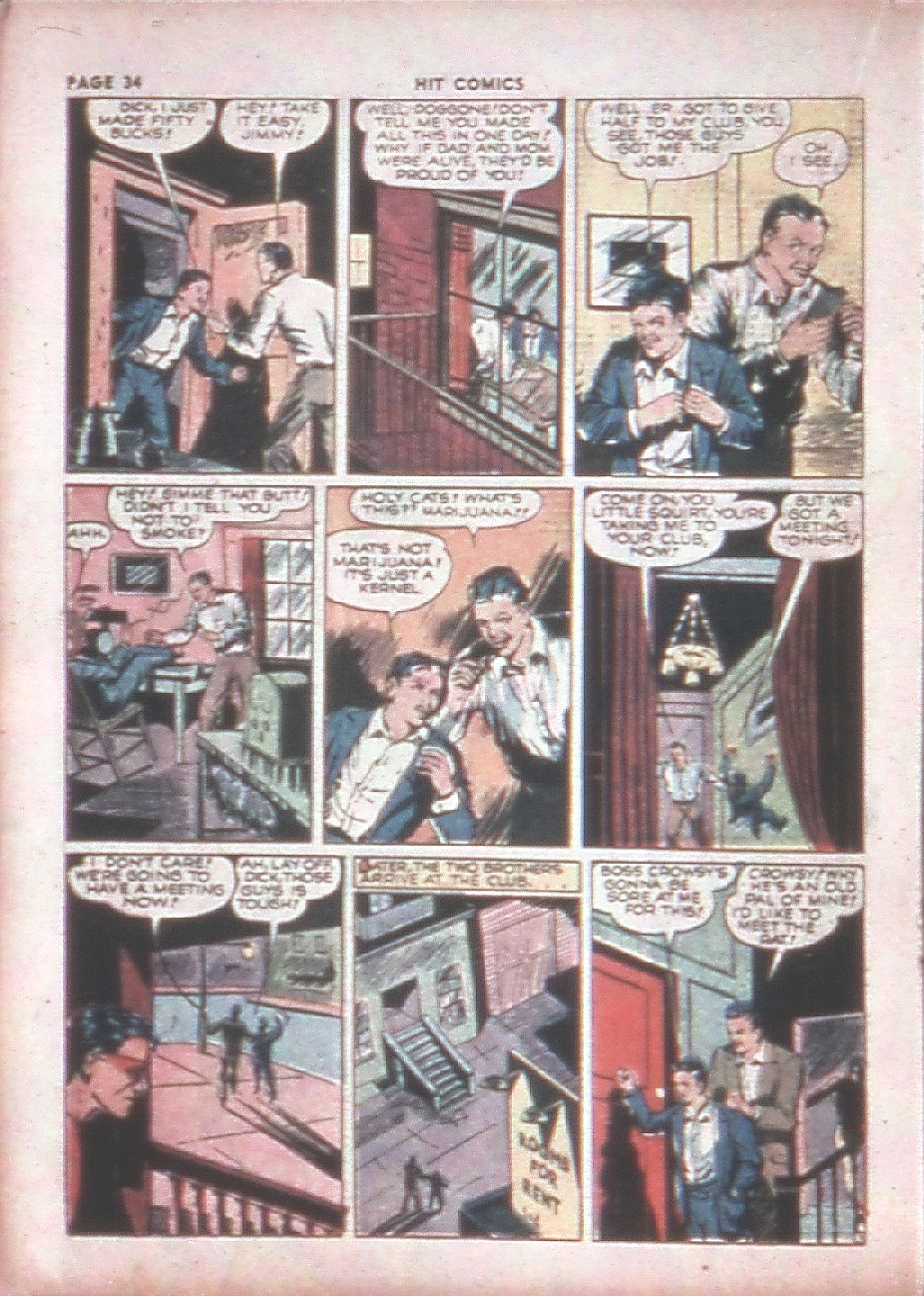 Read online Hit Comics comic -  Issue #8 - 36
