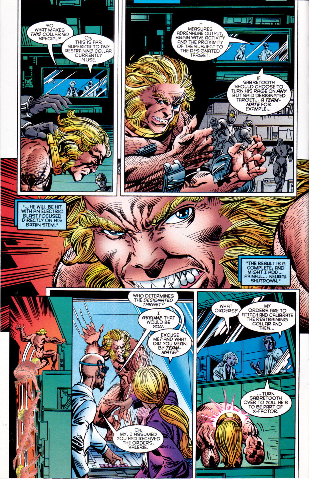 Read online X-Factor (1986) comic -  Issue #120 - 8