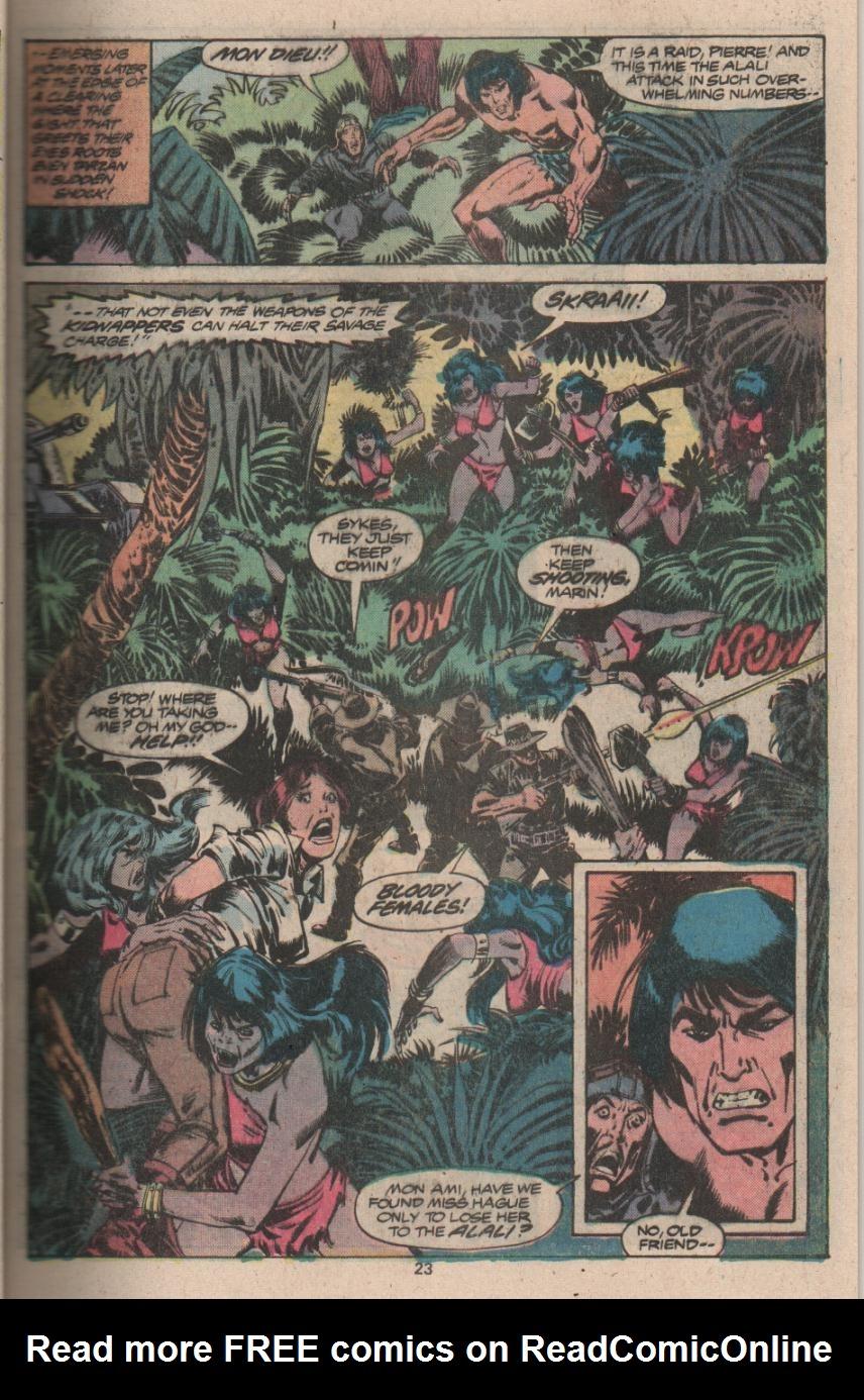 Read online Tarzan (1977) comic -  Issue # _Annual 3 - 18