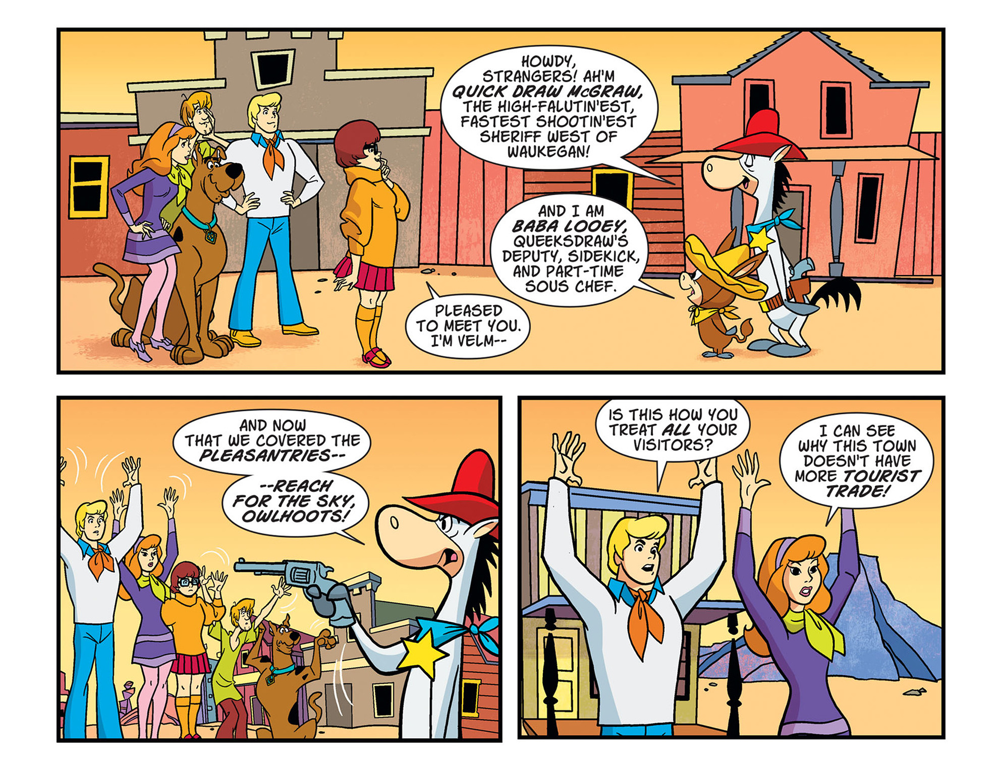 Read online Scooby-Doo! Team-Up comic -  Issue #45 - 8