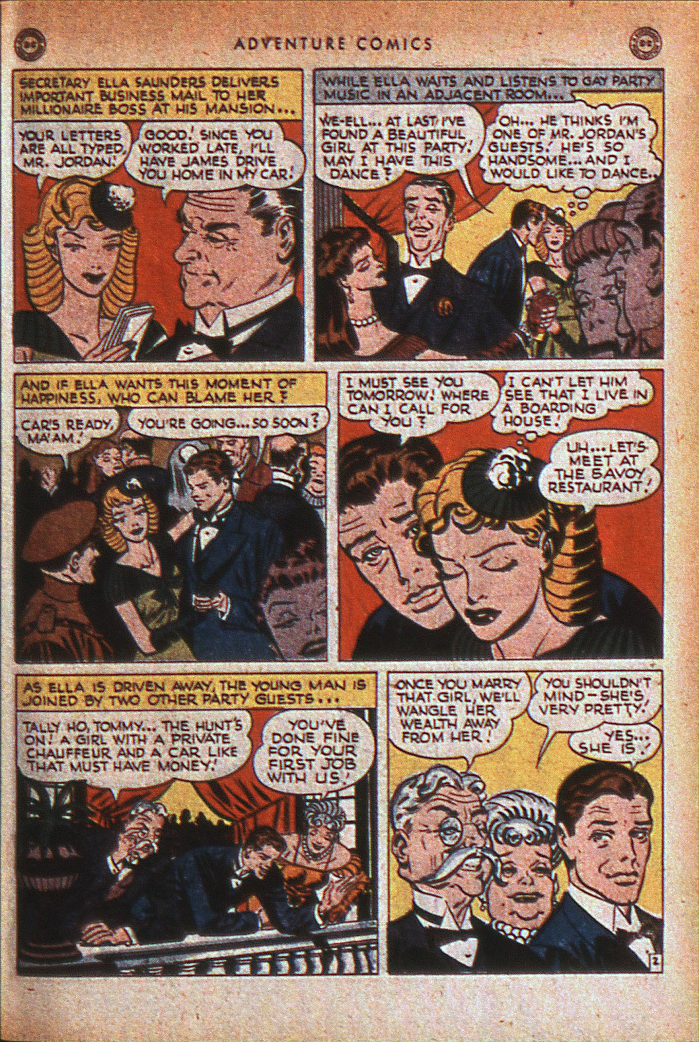 Read online Adventure Comics (1938) comic -  Issue #124 - 42