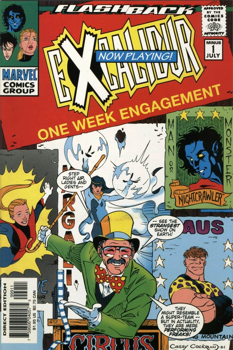 Excalibur (1988) issue -1 - Page 1