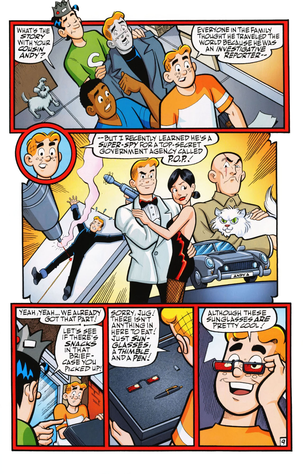 Read online Archie (1960) comic -  Issue #612 - 15