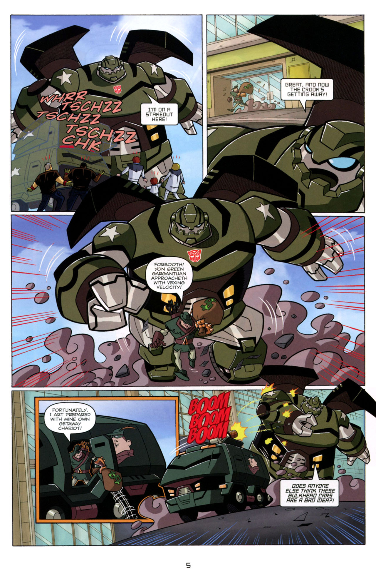 Read online Transformers Animated: The Arrival comic -  Issue #4 - 8