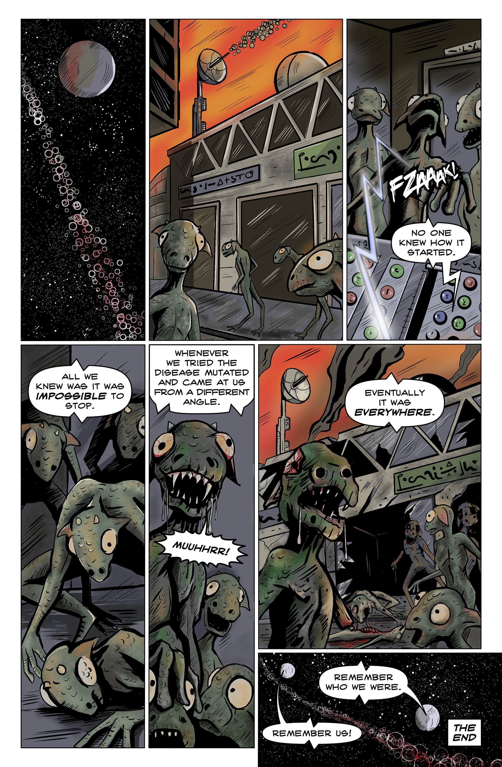 Read online 100% Biodegradable comic -  Issue #14 - 29