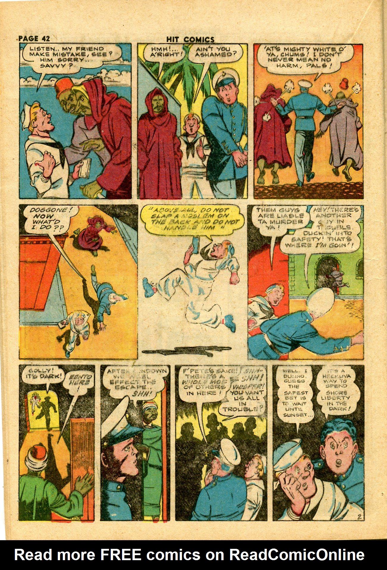 Read online Hit Comics comic -  Issue #28 - 45