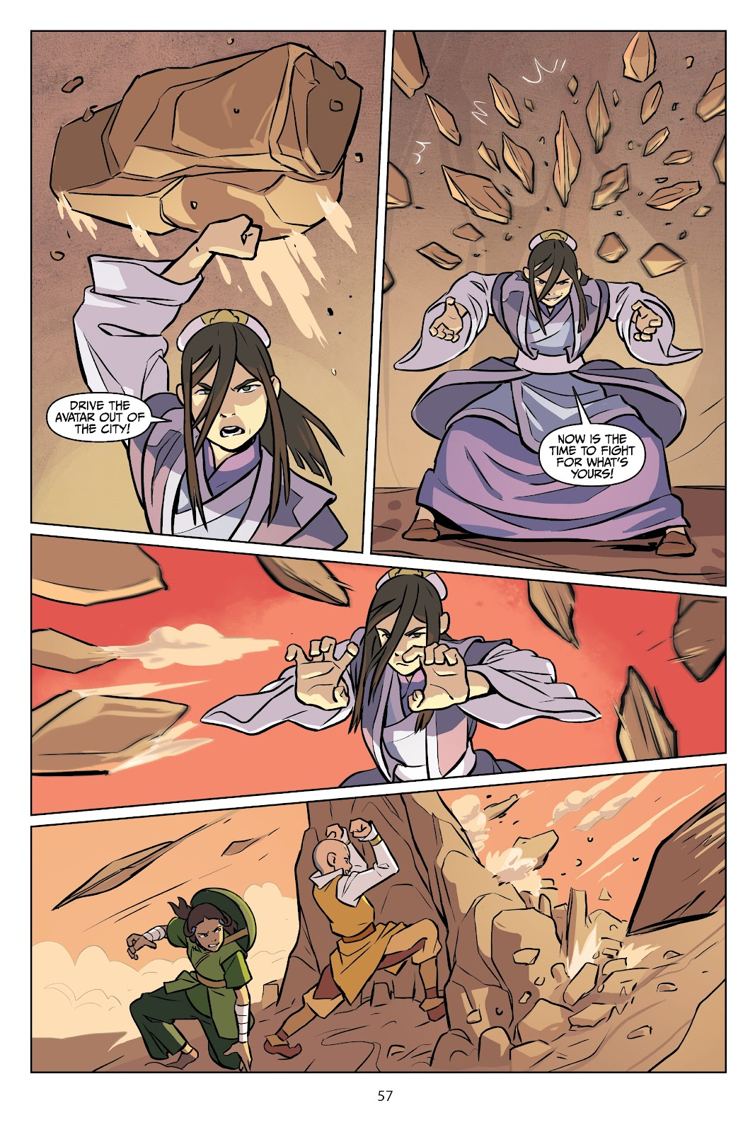Read online Nickelodeon Avatar: The Last Airbender - Imbalance comic -  Issue # TPB 2 - 58
