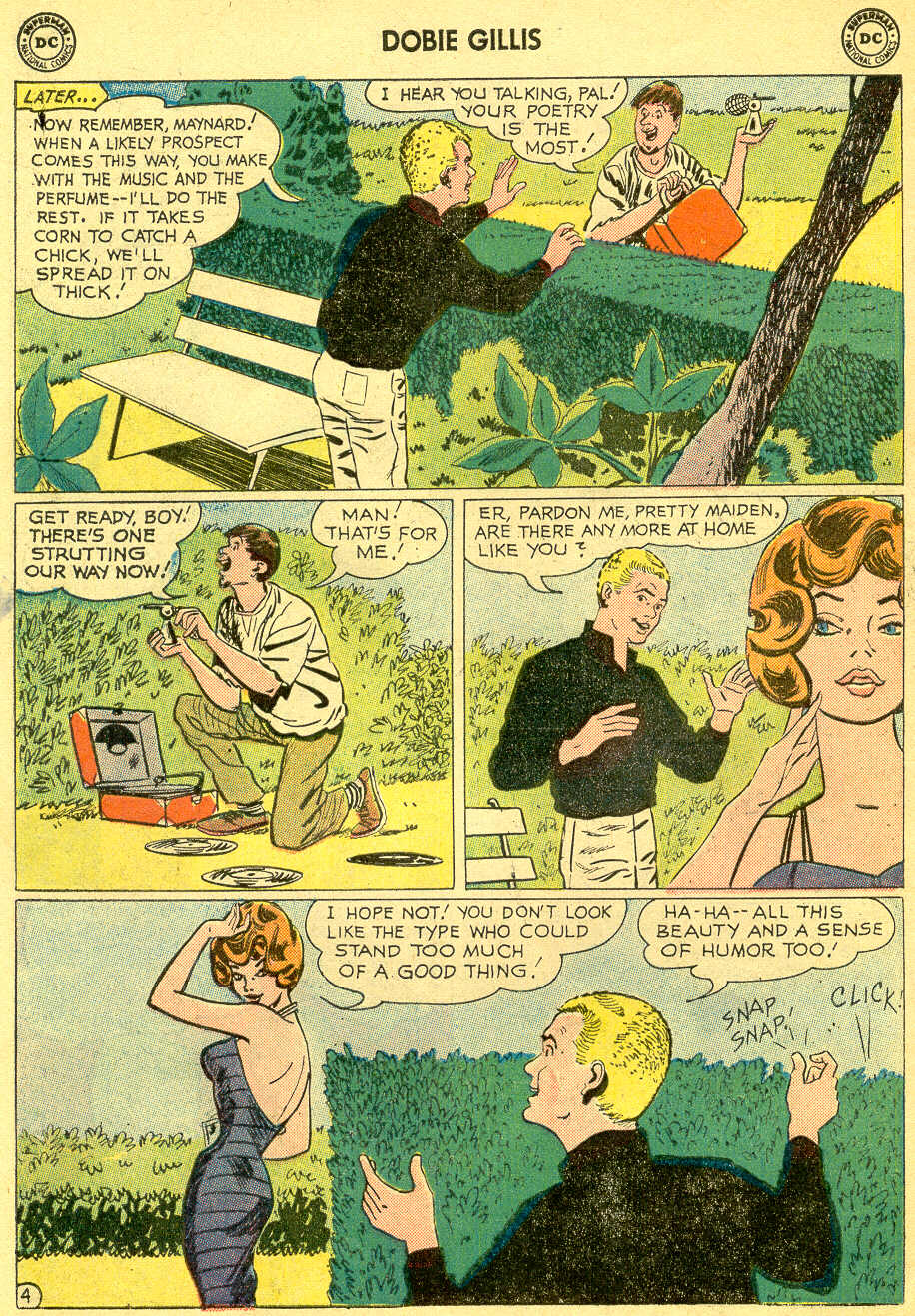 Many Loves of Dobie Gillis issue 4 - Page 6