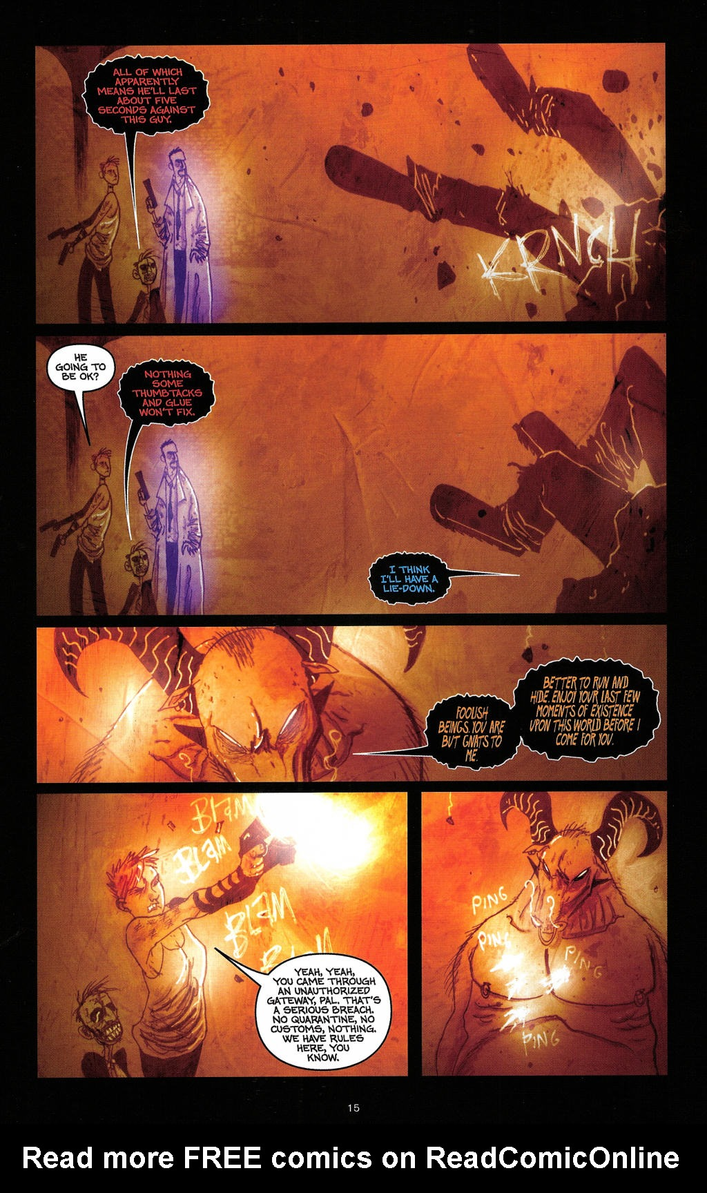 Read online Wormwood: Gentleman Corpse comic -  Issue #4 - 18