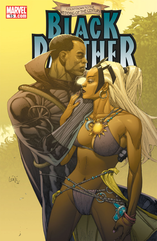 Black Panther (2005) 15 Page 1