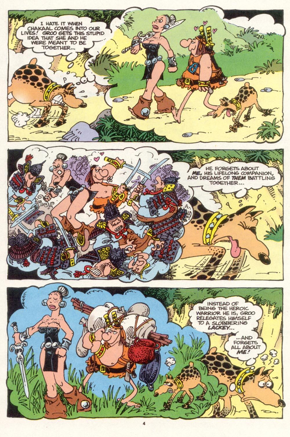 Read online Sergio Aragonés Groo the Wanderer comic -  Issue #117 - 6