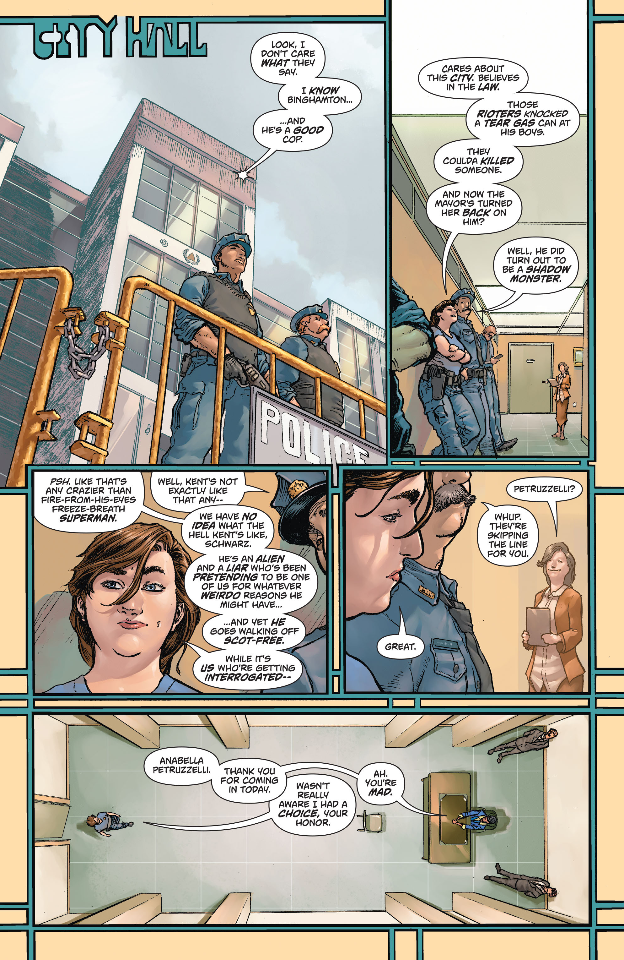 Read online Action Comics (2011) comic -  Issue #43 - 21