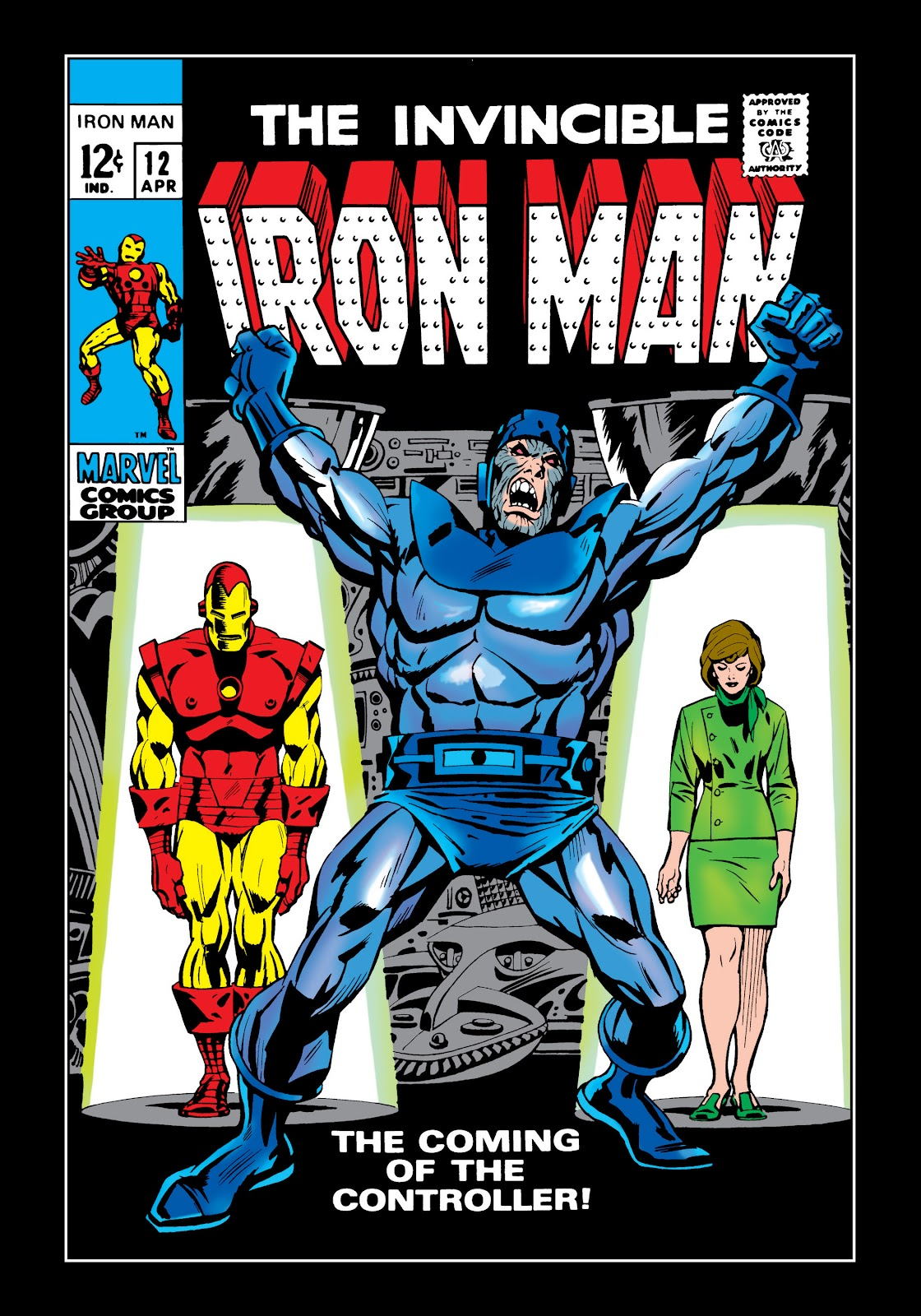 Read online Marvel Masterworks: The Invincible Iron Man comic -  Issue # TPB 5 (Part 3) - 17
